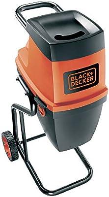 BLACK+DECKER GS2400-QS - Biotrituradora eléctrica, 2400 W, 230 V