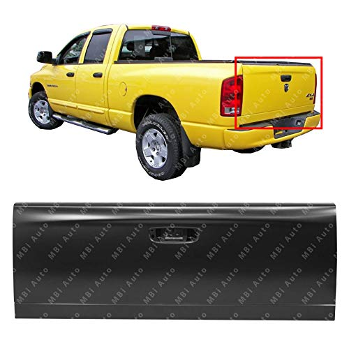 MBI AUTO - Primered, Steel Grade Tailgate Shell for 2002-2008 Dodge Ram 1500 2500 3500 02-09, CH1900121