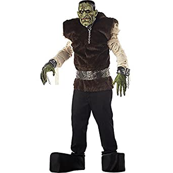 Disfraz Carnaval Halloween monstruo de laboratorio Frankenstein ...