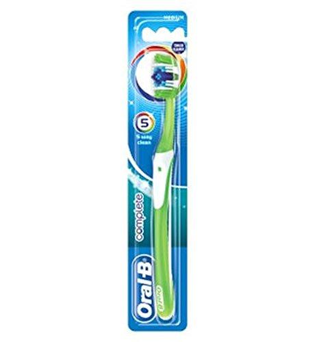 Oral-B Completa De 5 Vías Medio De Limpieza Manual Del Cepillo De Dientes: Amazon.es: Salud y cuidado personal