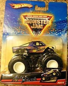 Hot Wheels 2009 1:64 Scale Monster Jam AFTER SHOCK Truck 33/75