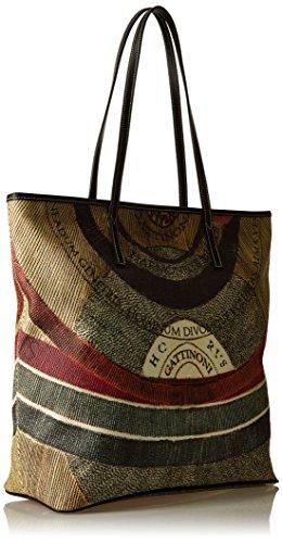 GATTINONI Gacpu0000122 - Bolso de hombro Mujer Multicolore (Classico)