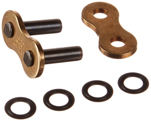 DID 520ZVXMG-ZJ-CL Gold Rivet-Style X-Ring Chain Connecting Link ()