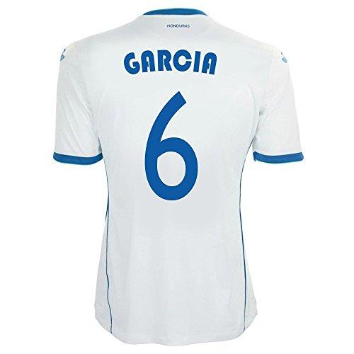 降雨バナナまだらJoma Garcia #6 Honduras Home Jersey World Cup 2014/サッカーユニフォーム ホンジュラス ホーム用 ワールドカップ2014 背番号6 ガルシア