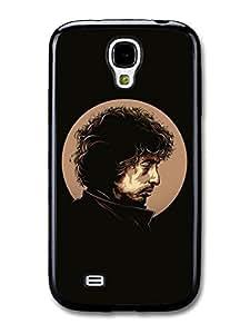 AMAF ? Accessories Bob Dylan Black Poster Original Illustration Singer case for Samsung Galaxy S4