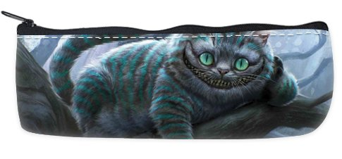 Storage Cheshire - Cheshire Cat Pencil Case School Pencil Case Cosmetic Makeup Bag Storage Student Stationery Zipper Wallet