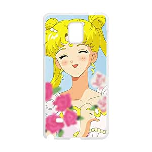 Lovely beautiful girl Cell Phone Case for Samsung Galaxy Note4 by runtopwell