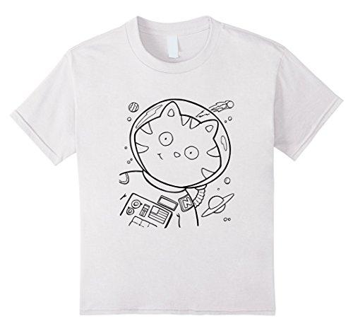 kids-coloring-book-t-shirts-space-kitty-tee-cat-kitten-shirt-8-white