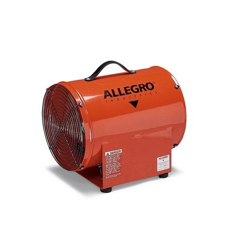 Allegro Industries 9509-01 12in Axial Explosion-Proof Blower