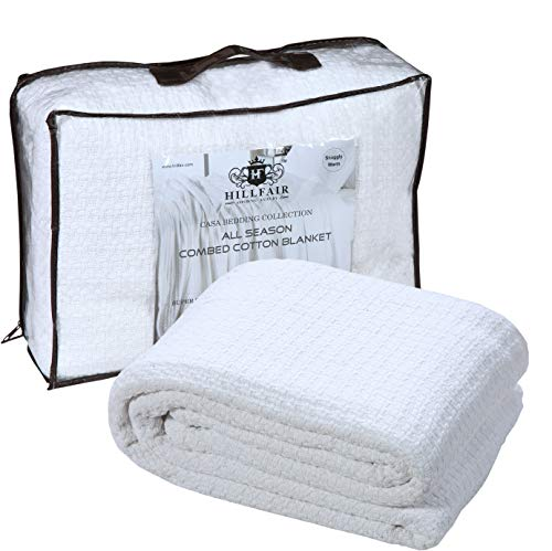 soft combed cotton thermal blanket