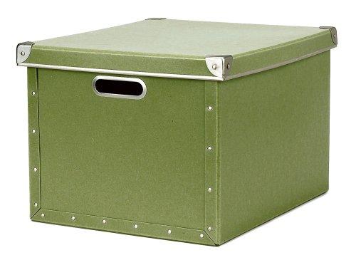 cargo Naturals Dual File Box, Sage, 2-Pack