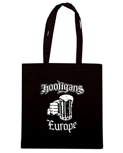 T-Shirtshock - Bolsa para la compra TUM0104 hooligan Negro