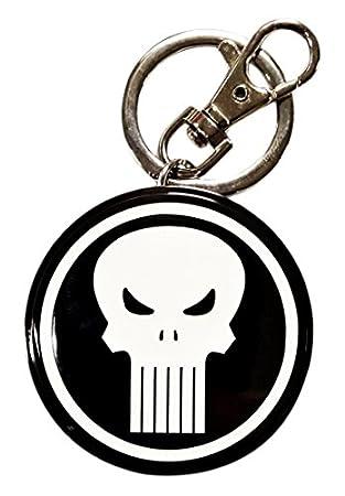 Sémic SMK008 – Llavero de metal, diseño de Punisher