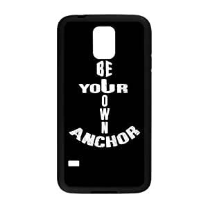 Stylish Anchor Design Plastic Case Protector for Samsung Galaxy S5