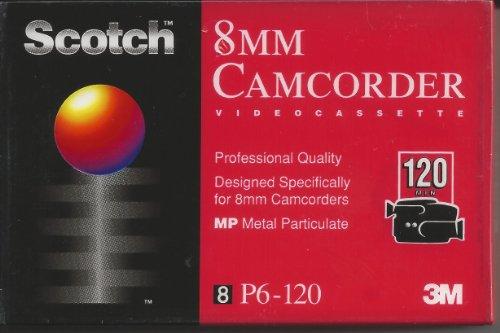 Scotch 8mm Camcorder 120 Minute