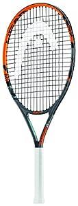HEAD Kinder Tennisschläger Radical, Schwarz/Orange, 25