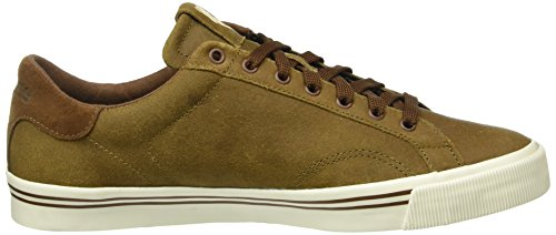 K-Swiss Herren Bridgeport C Low-Top Braun (Bison/Marshmallow)