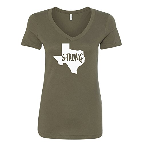 Texas Womens V-neck - 9
