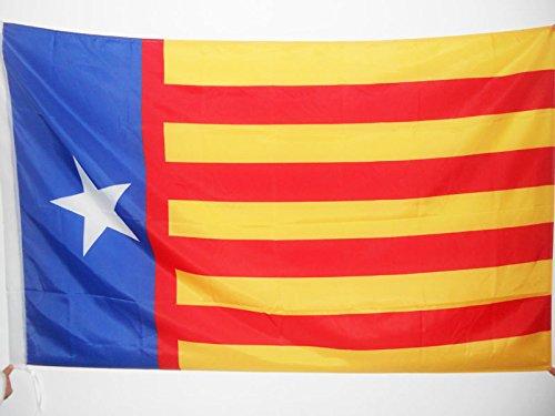 AZ FLAG Bandera de la Comunidad Valenciana INDEPENDENTISTA 90x60cm para Palo Bandera REGIONALISMO Valenciano SENYERA Valencia 60 x 90 cm