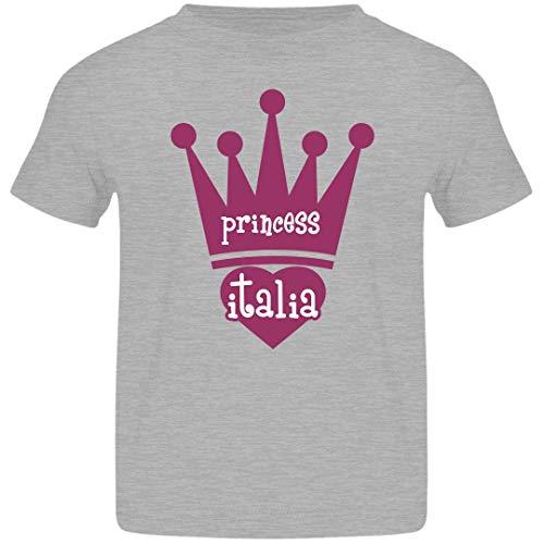 FUNNYSHIRTS.ORG Princess Italia Girl Toddler: Jersey Toddler