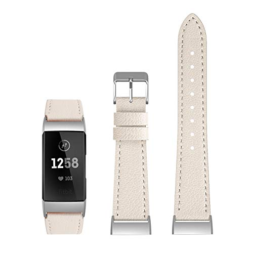 SWEES Leather Bands Compatible Fitbit Charge 3 & Charge 3 SE