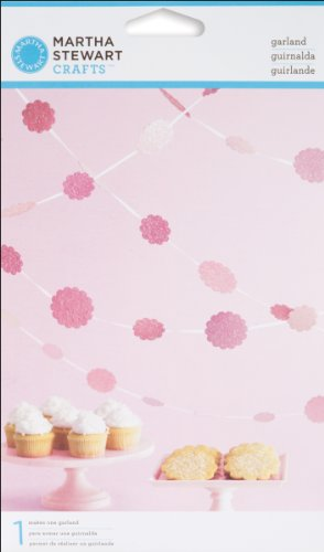 Martha Stewart Crafts Vintage Girl Glittered Dot Garland