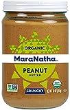 MaraNatha No Stir Organic Peanut Butter, Crunchy, 16 oz