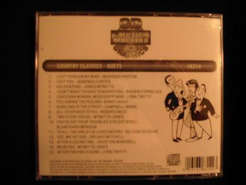 Music Maestro #6314 Country Classic Duets Karaoke CDG-OOP