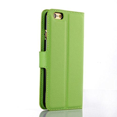 Funda iPhone 6/iPhone 6S,Manyip Caja del teléfono del cuero,Protector de Pantalla de Slim Case Estilo Billetera con Ranuras para Tarjetas, Soporte Plegable, Cierre Magnético G
