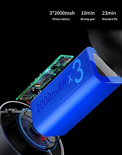 N  A Aspirateurs sans Fil Portables Aspirateurs sans Fil Portables Mini Chargeur de Voiture Portable Rechargeable à Aspiration élevée