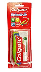 Colgate toothbrush and toothpaste portable kit home kitchen - Keep toothpaste kitchen ...