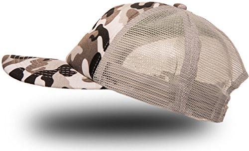 Balinco - Gorra de béisbol - para Hombre Army Grey