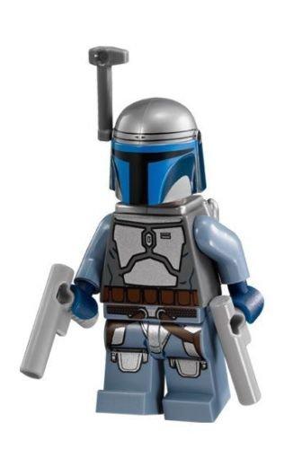 Lego Jango Fett Minifigure Exclusive to 2017 (set (Jango Fett Gun)