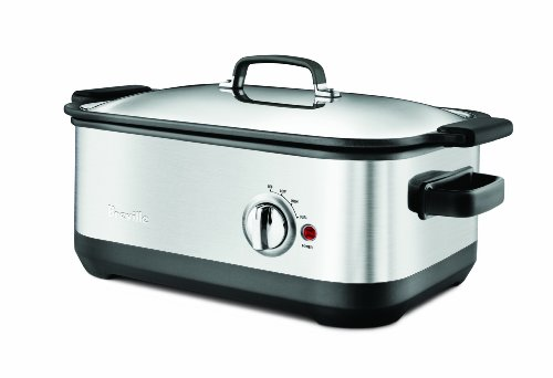 Breville BSC560XL Stainless-Steel 7-Quart Slow Cooker with EasySear Insert (Breville Rice Maker compare prices)
