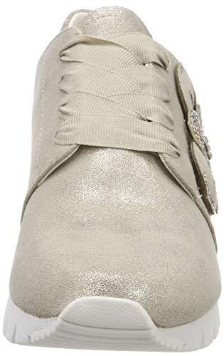 Caprice Sneakers Basses beige Shin 417 Beige Ibiza Femme sue rrw5WqSE