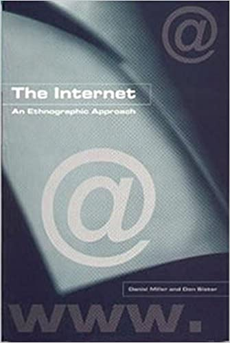 The Internet: An Ethnographic Approach: Amazon.es: Daniel Miller, Don Slater: Libros en idiomas extranjeros