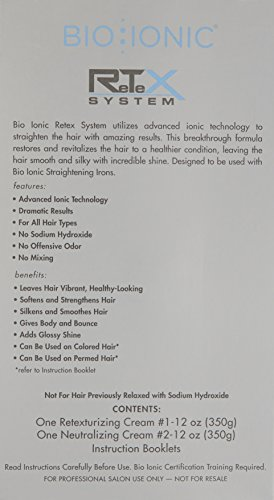 Bio Ionic Retex Hair Straightening System Retex Kit Buy Online