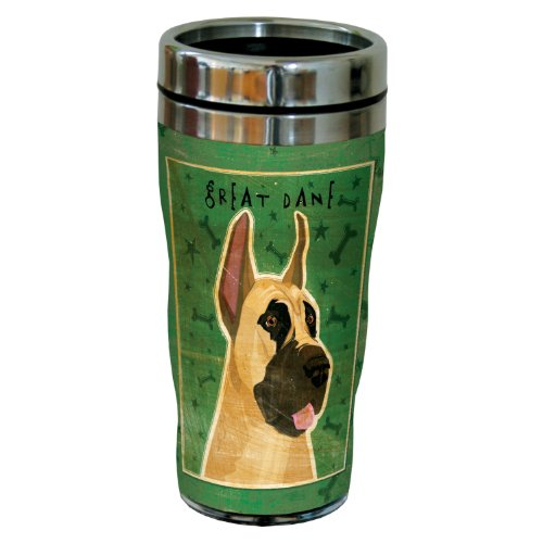 - Tree-Free Greetings sg24026 Great Dane by John W. Golden 16-Ounce Sip 'N Go Stainless Steel Lined Travel Tumbler