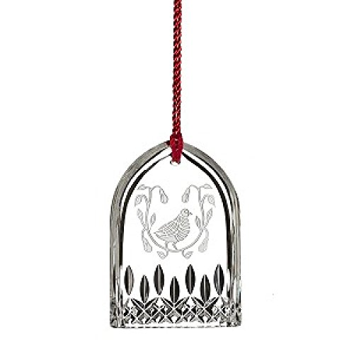 Waterford 12 Days Of Christmas 2015 Lismore Partridge Ornament 12 Days Partridge Ornament