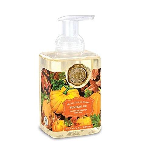 Delicious Scented Hand Cream (Michel Design Works Scented Foaming Hand Soap, Pumpkin Pie)
