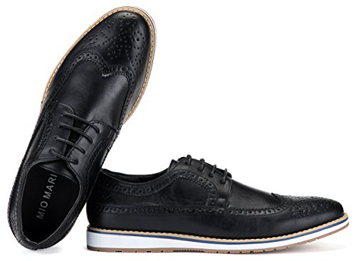 in Mio Dress Oxford Black Shoes Casual for Mens Bag Wingtip Men Shoe Marino Shoes A qrxq4vYR