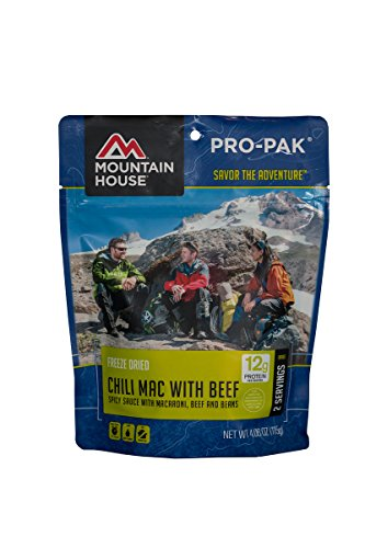 Mountain House Chili Mac with Beef Pro-Pak (Chili Macaroni Mre compare prices)