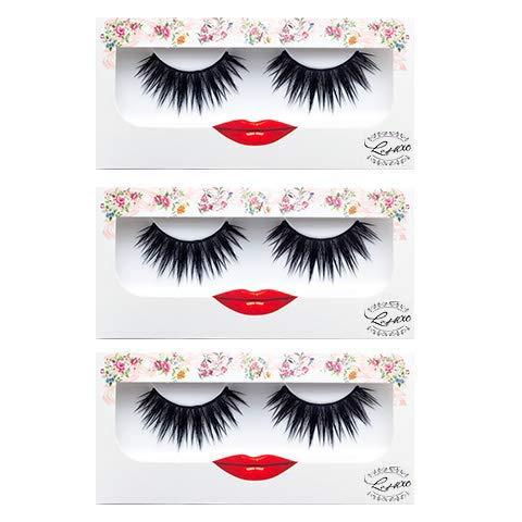LashXO Lashes- Kayla-3 pack Premium Quality False Eyelashes lashes compared to popular name brands