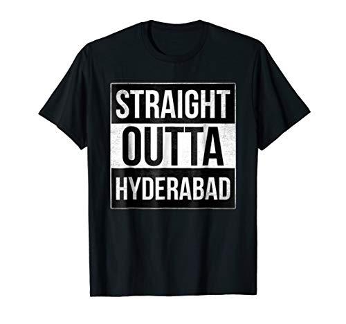 Straight Outta Hyderabad Indian Pride Tshirt