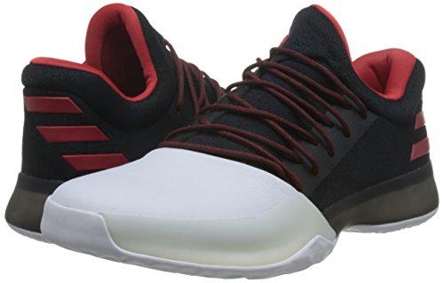 De Adidas Pour ball Ftwbla 1 Vol Basket Chaussures Harden Nero Hommes Escarl negbas wax4IaqrB