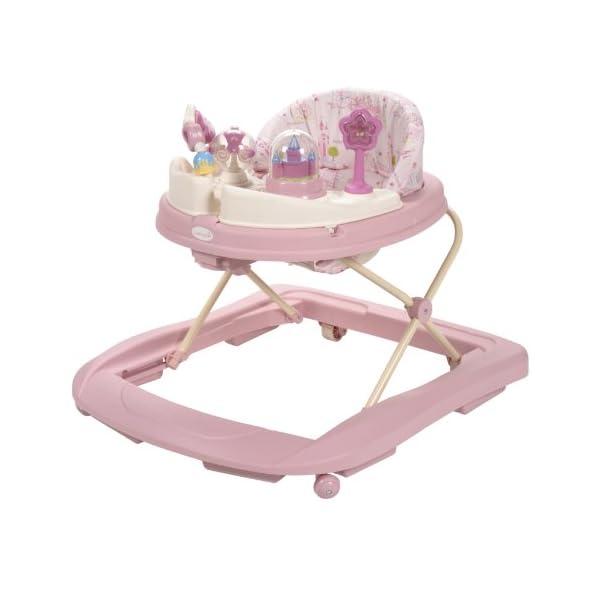 Baby Walker Girl Pink 2021 - Disney Music and Lights Walker
