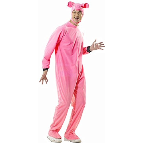 [Adult's Pig Halloween Costume] (Pig Costume Nose Ears Tail)