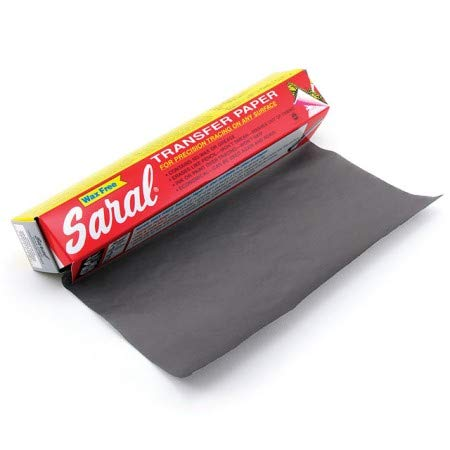 Saral Transfer paper - 12 Foot Rolls, Graphite - 2 Pack