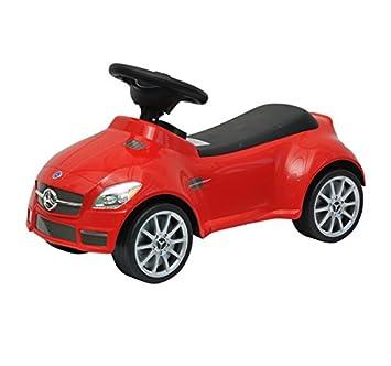 HOMCOM Correpasillos Coche Mercedes Infantil Color Rojo Andador ...