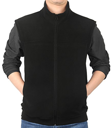 Zip Front Fleece Vest - 6